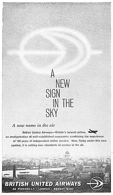 BUA. British United Airways