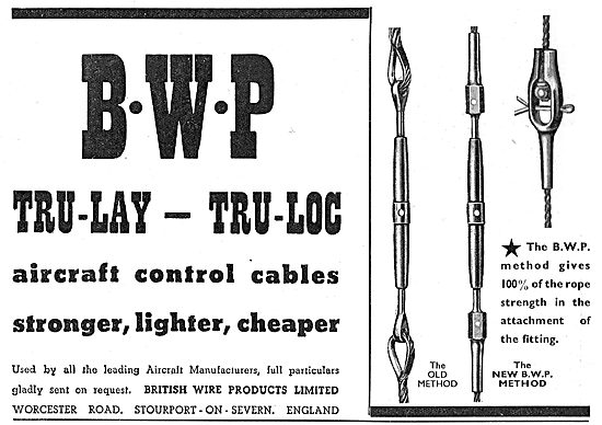 British Wire Products : BWP Control Cables. TRU-Lay. TRU-Loc