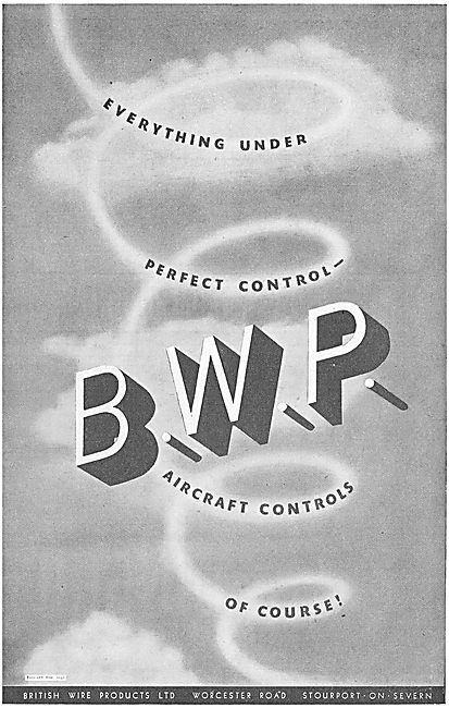 BWP Aircraft Controls