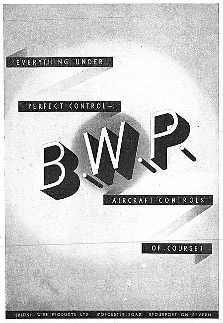 British Wire Products : BWP Control Cables.