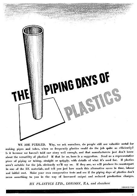 BX Plastics 1942 Advert