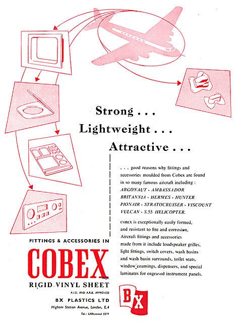 BX Plastics COBEX Rigid Vinyl Sheet