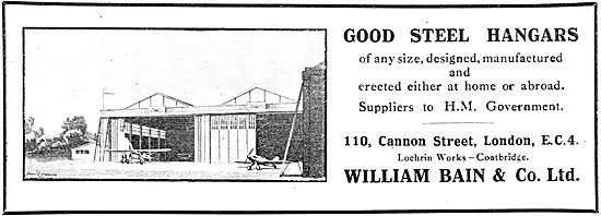 William Bain & Co - Good Steel Hangars Of Any Size