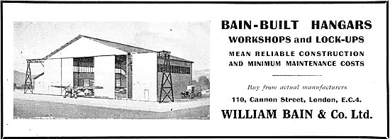William Bain & Co - Aircraft Hangars & Workshops