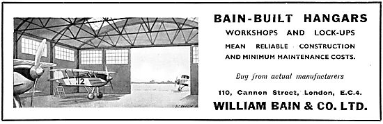 William Bain & Co - Aircraft Hangars 1931