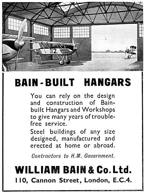 William Bain & Co - Aircraft Hangars