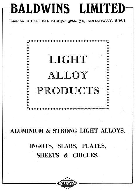 Baldwins Light Alloy Products