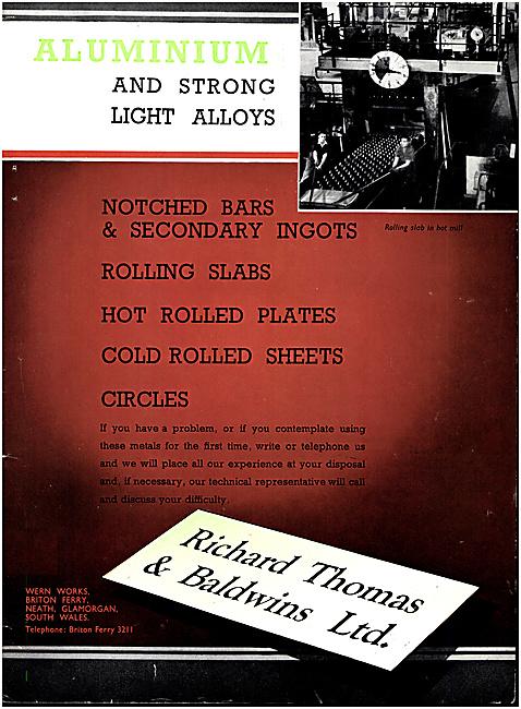 Richard Thomas & Baldwins - Aluminium Alloys