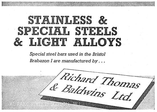 Richard Thomas & Baldwins Special Steels & Light Alloys