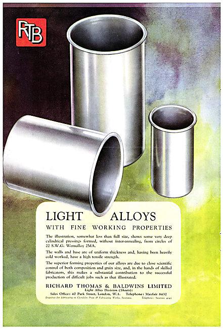 Baldwins Light  Alloys