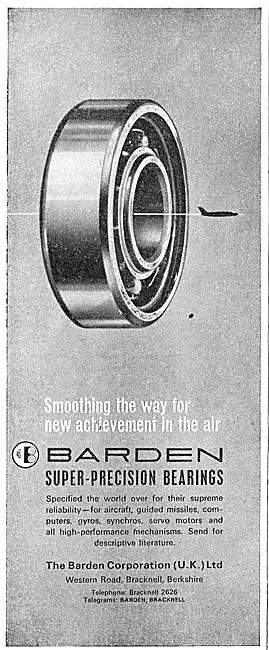 Barden Corporation (UK) - Precision Bearings