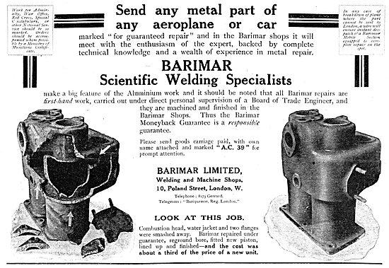 Barimar Scientific Welding Specialists
