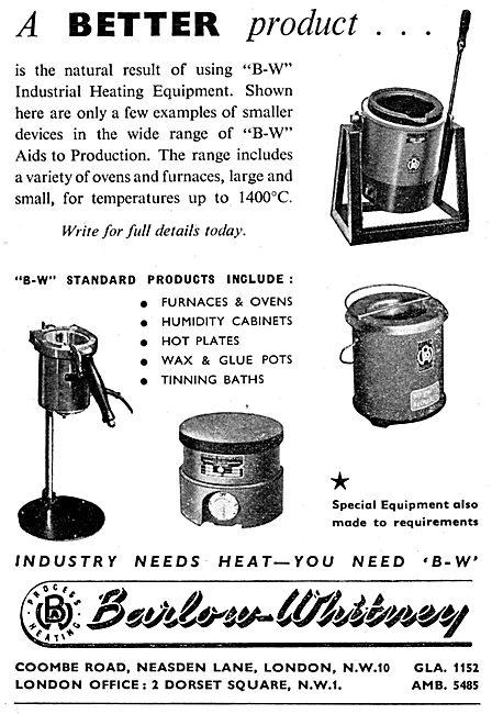Barlow-Whitney Electrical Heating Equipment