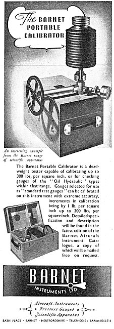 Barnet Aircraft Instruments