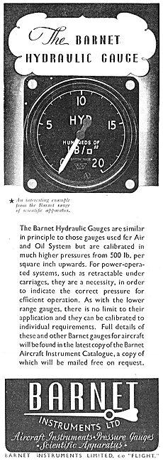 Barnet Hydraulic Pressure Gauge