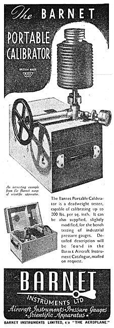 Barnet Portable Pressure Gauge Calibrator