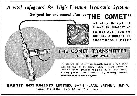 Barnet Instruments - Hydraulic Gauges