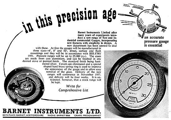 Barnet Instruments & Test Equipment