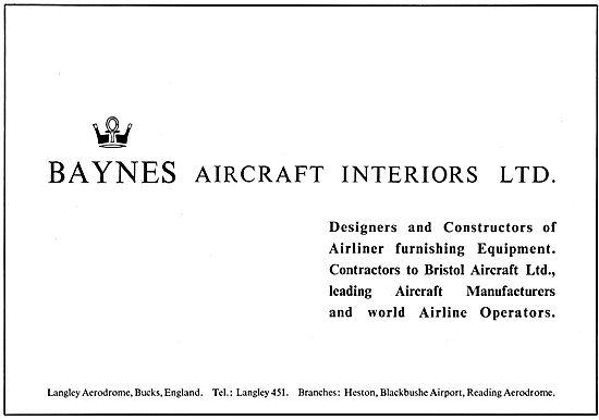 Baynes Aircraft Interiors