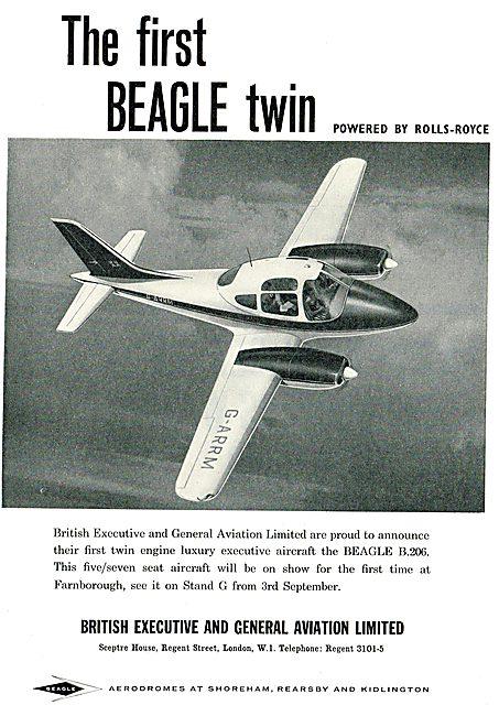 Beagle B206 - G-ARRM