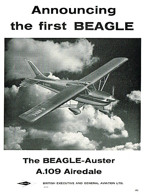 Beagle - Auster A109 Airedale G-ARKE
