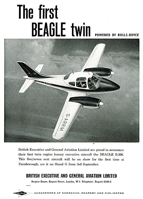 Beagle B206 The First Beagle Twin
