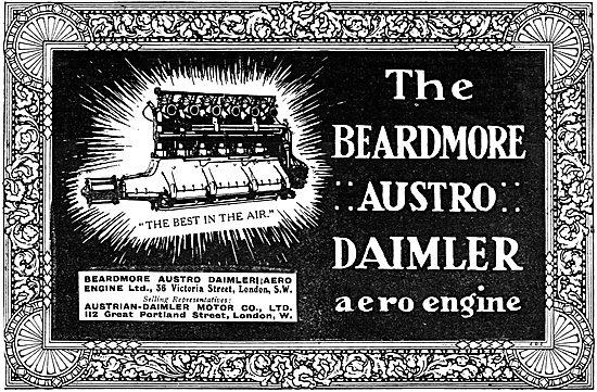 Beardmore Austro Daimler Aero Engines