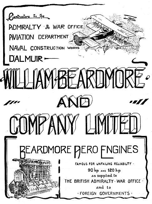 Beardmore Aero Engines 1915