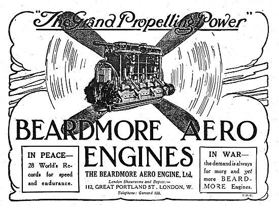 Beardmore Aero Engines Hold 28 World Records