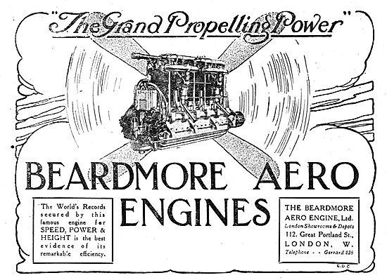 Beardmore Aero Engines. The Grand Propelling Power.