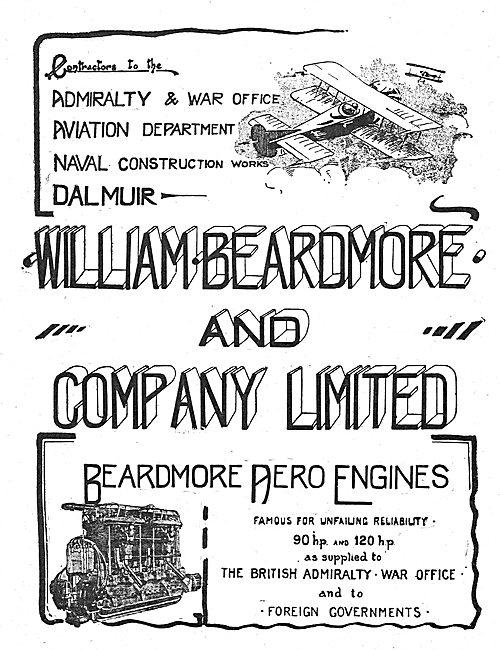Beardmore Aviation Works Dalmuir