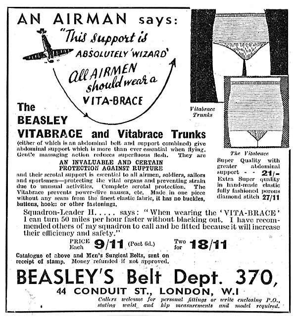 Beasleys Belt - Vitabrace Underwear For Airmen