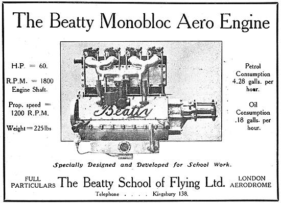 The Beatty Monobloc Aero Engine