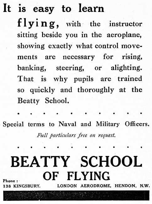 The Beatty School Of Flying