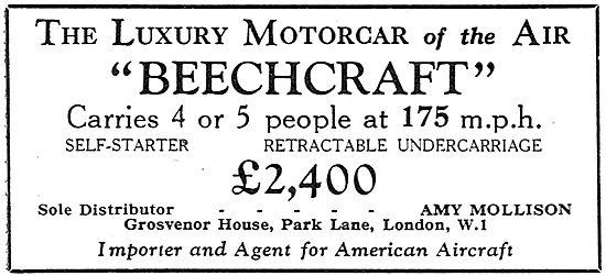 Beechcraft 4/5 Seater: Amy Mollison