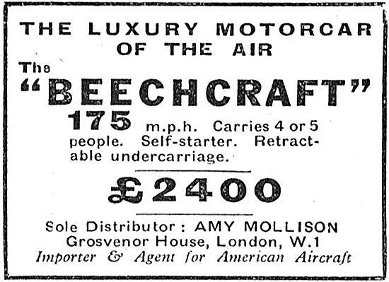 Beechcraft :Amy Mollison Distributor