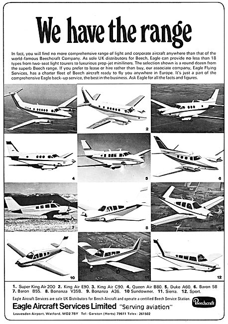 Eagle Aircraft Services Beechcraft