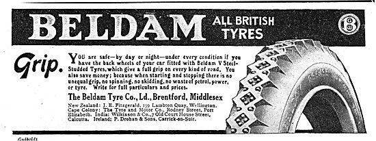 Beldam All British Motor Vehicle Tyres