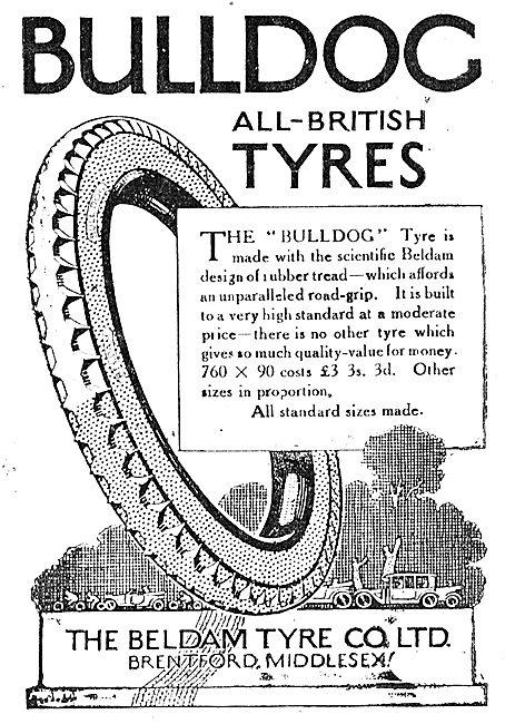 Beldam Bulldog All British Motor Vehicle Tyres