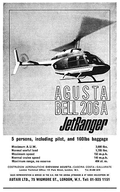 Agusta Bell 206A JetRanger
