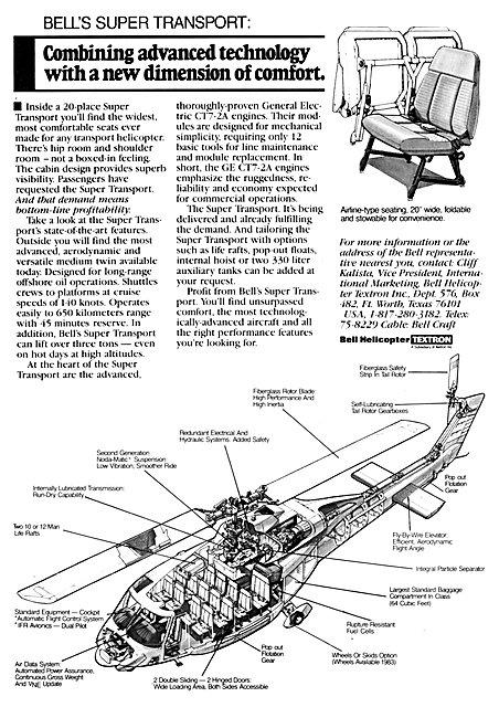 Bell Super Transport Helicopter