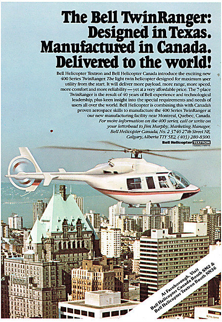 Bell 400 Series Twin Ranger