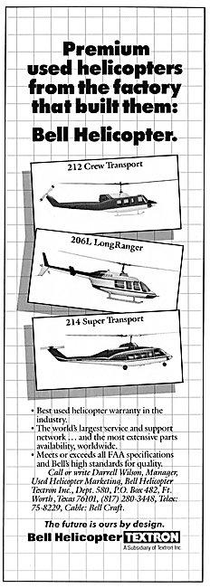 Bell 214 - Bell 206L LongRanger - Bell 212 Crew Transport