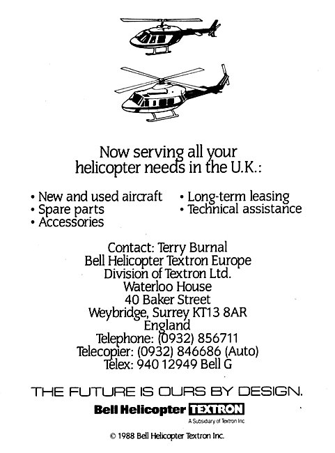 Bell Textron Bell Helicopters UK
