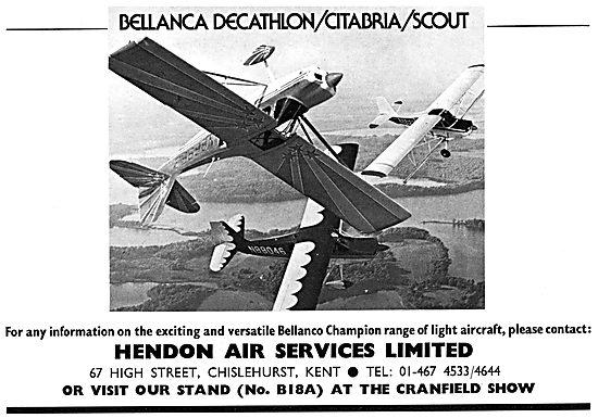 Bellanca Decathlon - Bellanca Citabria - Bellanca Scout 1975