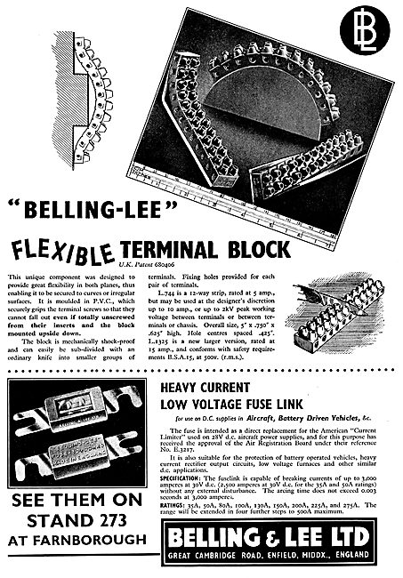 Belling & Lee Flexible Electrical Terminal Block - Fuse Links