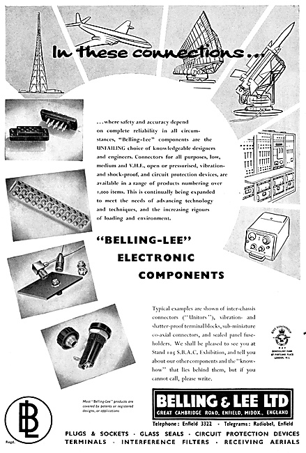 Belling & Lee Aircraft Electronic Components