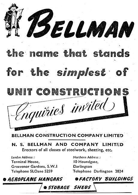 Bellman Hangars 1943