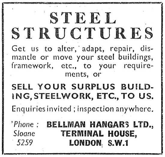 Bellman Hangars & Industrial Steelwork