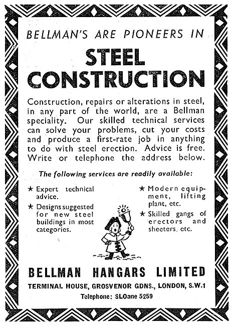 Bellman Hangars 1949